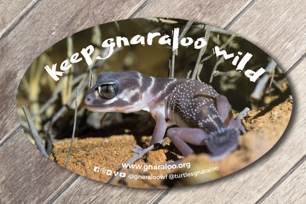 Car Sticker - Wildlife Conservation - Gnaraloo
