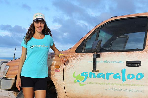 T-shirt Ladies - Sea Turtle Conservation