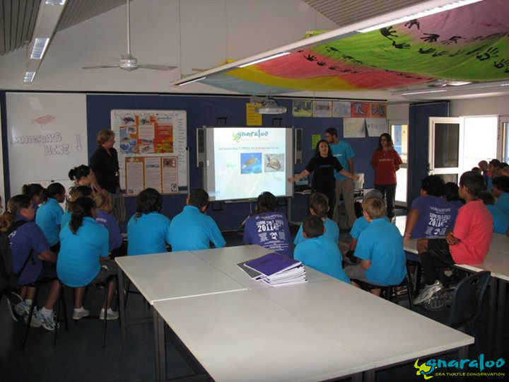 Educational Presentation at Carnarvon Primary School