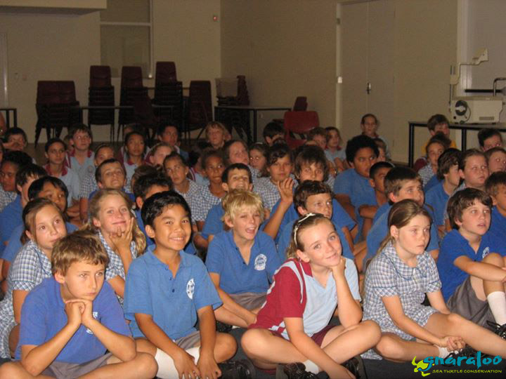 Educational Presentation at St. Mary Catholic School in Carnarvon