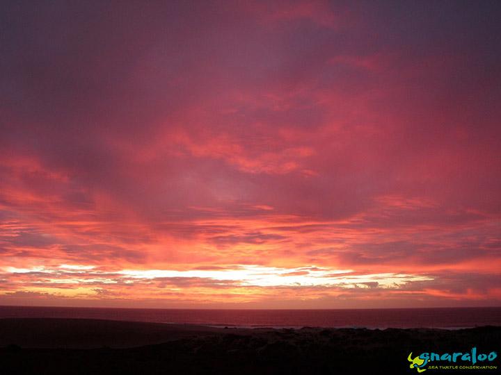 Sunset At Gnaraloo