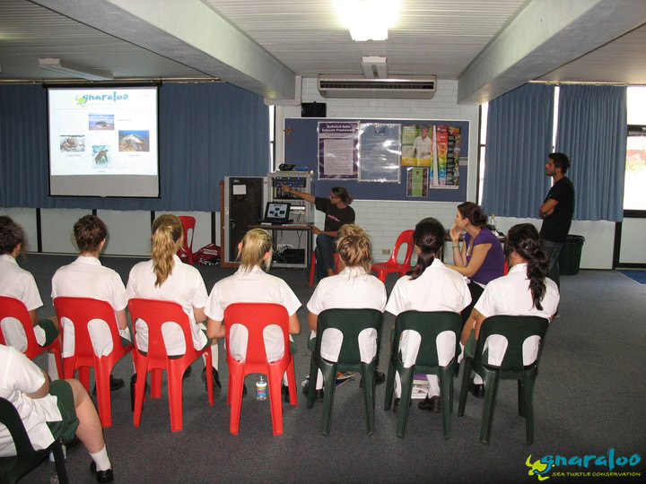 Presentation At Nagle Catholic College, Geraldton