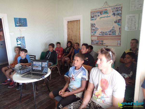 Sea turtle school presentation