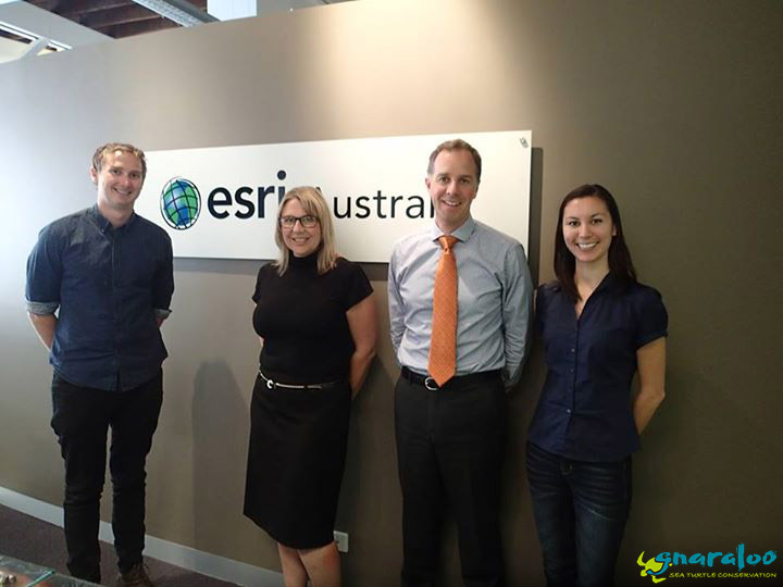 Andy, Tanya, Tom, And Mel At The Esri Offices In Perth