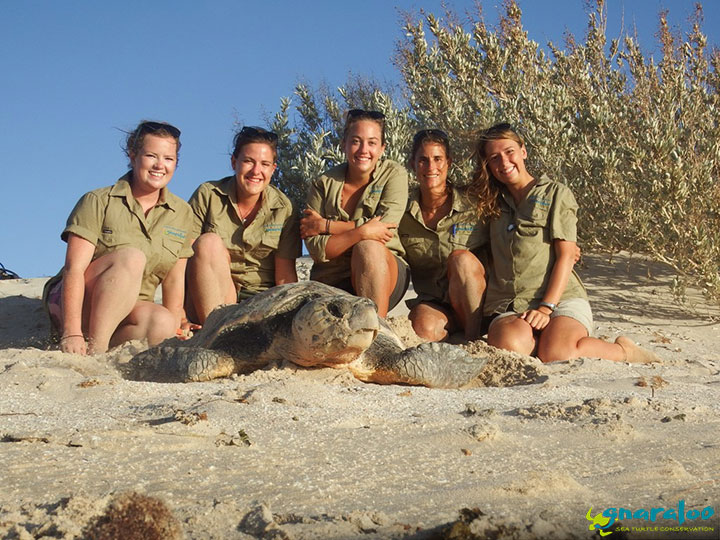 Gnaraloo Turtle Conservation Program field team 2017/18