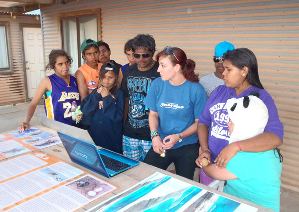 School presentation - Gnaraloo Turtle Conservation Program