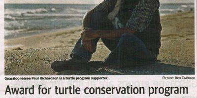 Award for turtle conservation program