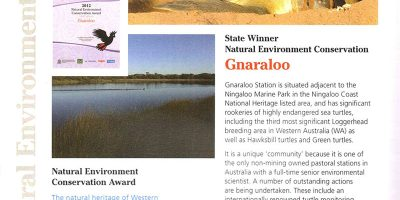 Gnaraloo - Keep Australia Beautiful