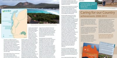 The 2013 WA State Coastal Conference: A Gnaraloo perspective