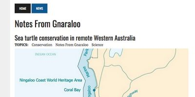 Notes from Gnaraloo