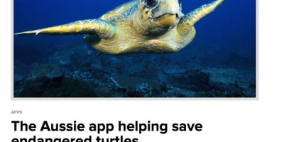 The Aussie app helping save endangered turtles