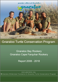 Gnaraloo Bay and Gnaraloo Cape Farquhar Rookeries: Summary Report 2017/18