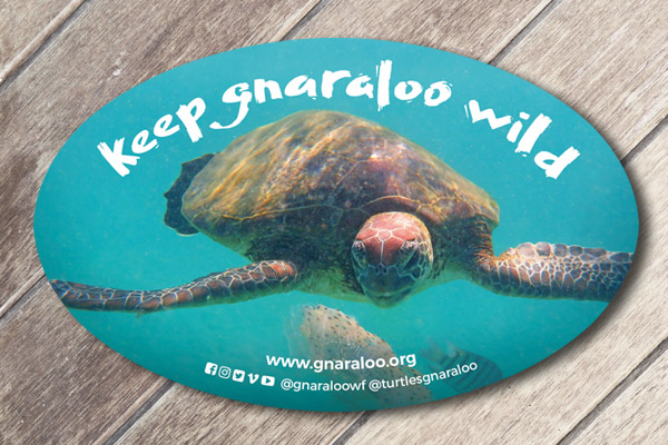 Car Sticker - Wildlife Conservation - Gnaraloo