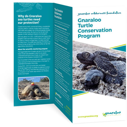 Gnaraloo Wilderness Foundation brochure