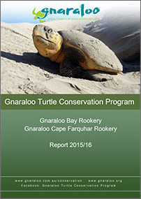 Gnaraloo Bay and Gnaraloo Cape Farquhar Rookeries: Report 2015/16