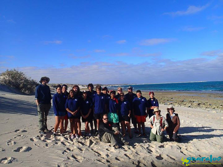 Tom Price High School At Gnaraloo With GTCP Team