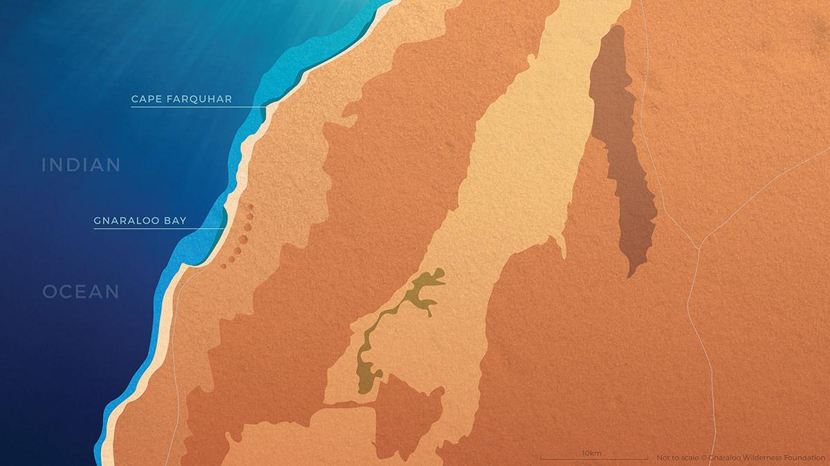 Gnaraloo Wilderness Area Map