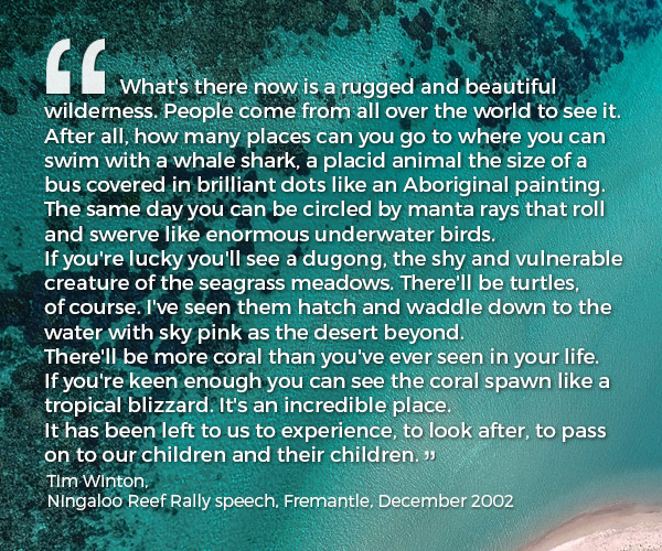 Tim Winton - Ningaloo Reef