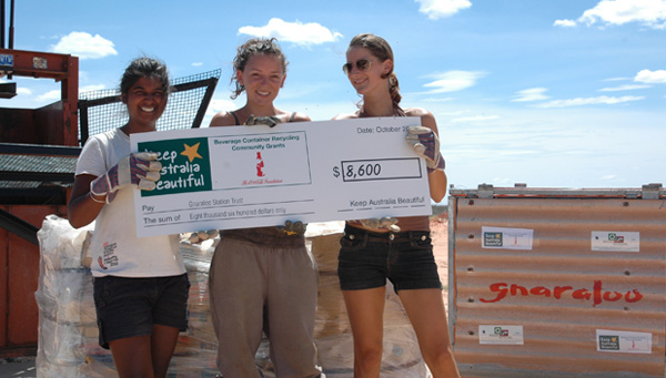 Gnaraloo Reduce Reuse Recycle Program - Keep Australia Beautiful