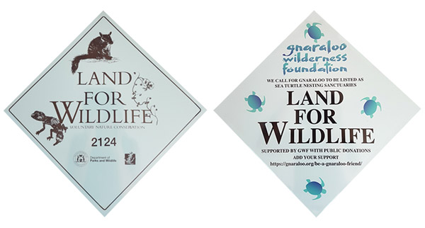 Land for wildlife GWF