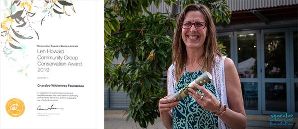 GWF - Len Howard Community Group Conservation Award